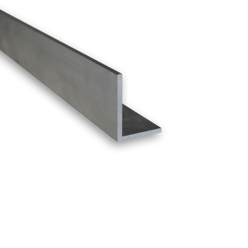 Cornière L inégale 20x10x2 Aluminium 6060 (AGS)