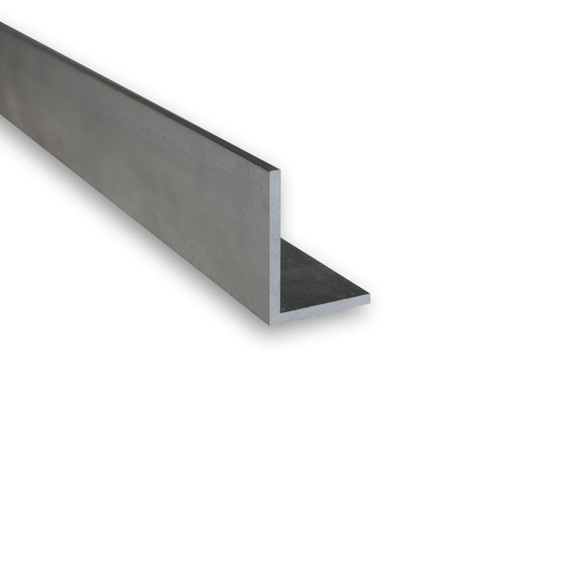 Cornière L inégale 40x20x2 Aluminium 6060 (AGS)