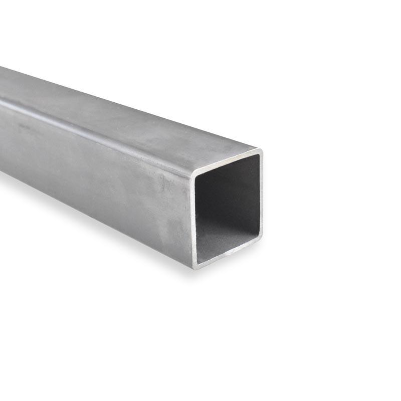 Tube Carré 40x15x2 Aluminium 6060 (AGS)