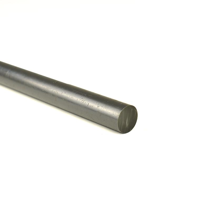Diamètre ⌀10 PVC Rond en Barre / Tige Couleur Gris