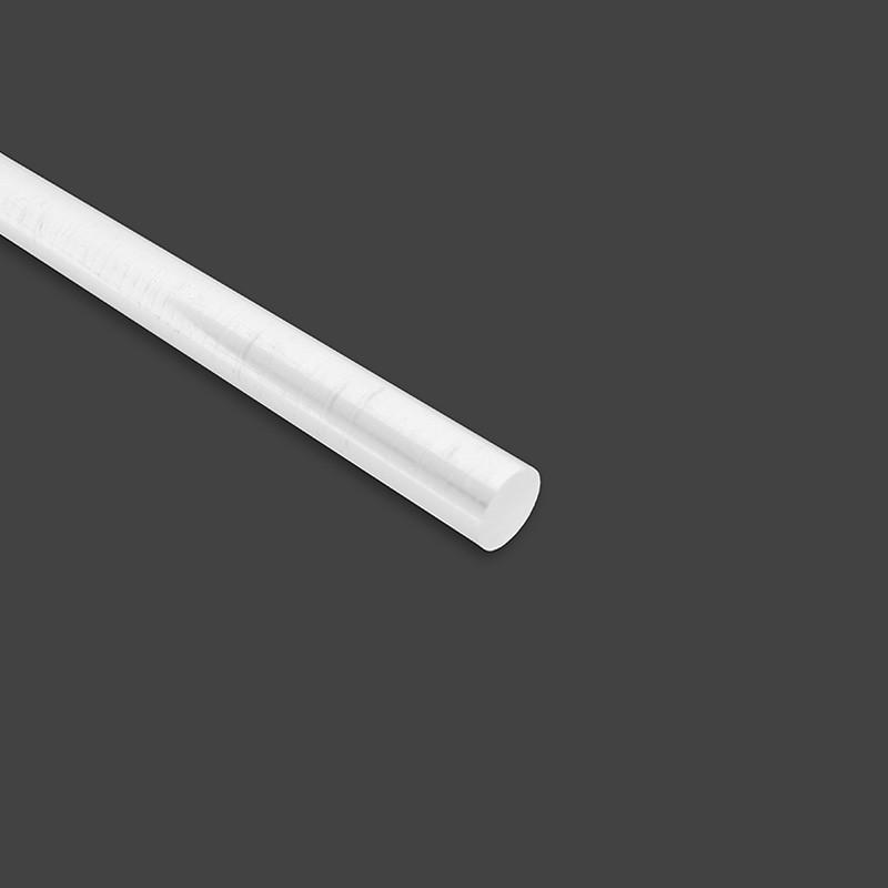 Diamètre ⌀10 POM-C Rond en Barre / Tige Couleur Blanc