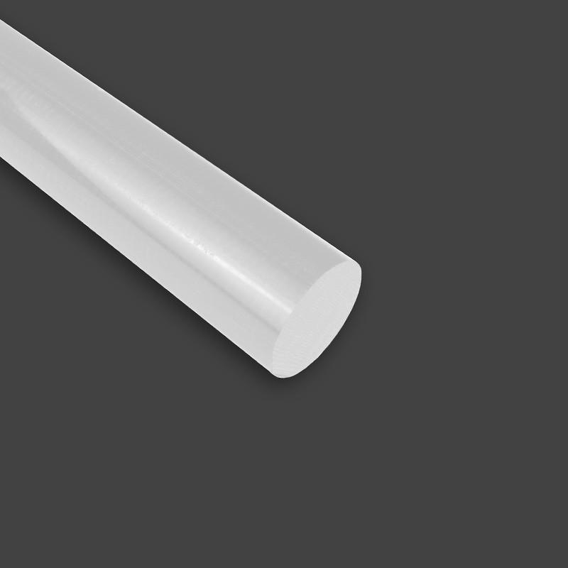 Diamètre ⌀50 POM-C Rond en Barre / Tige Couleur Blanc